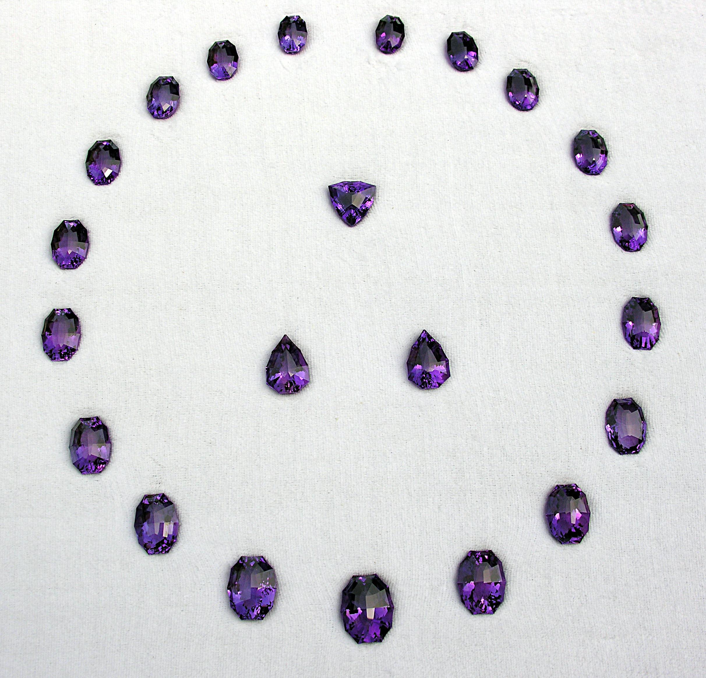 Parure d'Amethystes de 452-carats