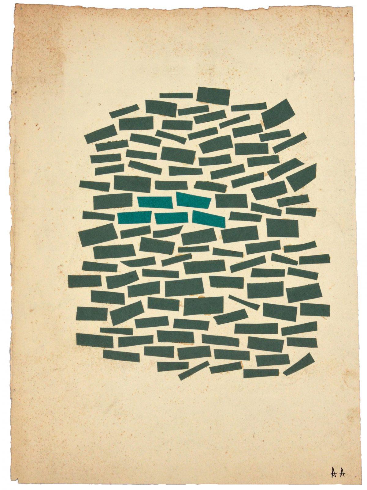 Papiers découpés - 52,4 X 37,5 cm - 1950