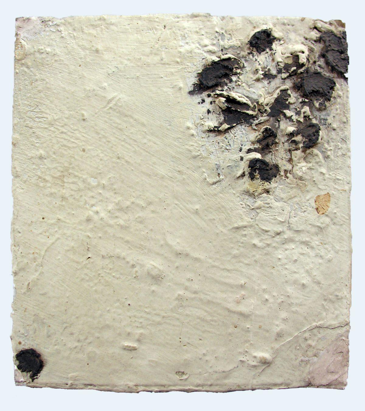 Oiseaux - Huile sur panneau - 1956