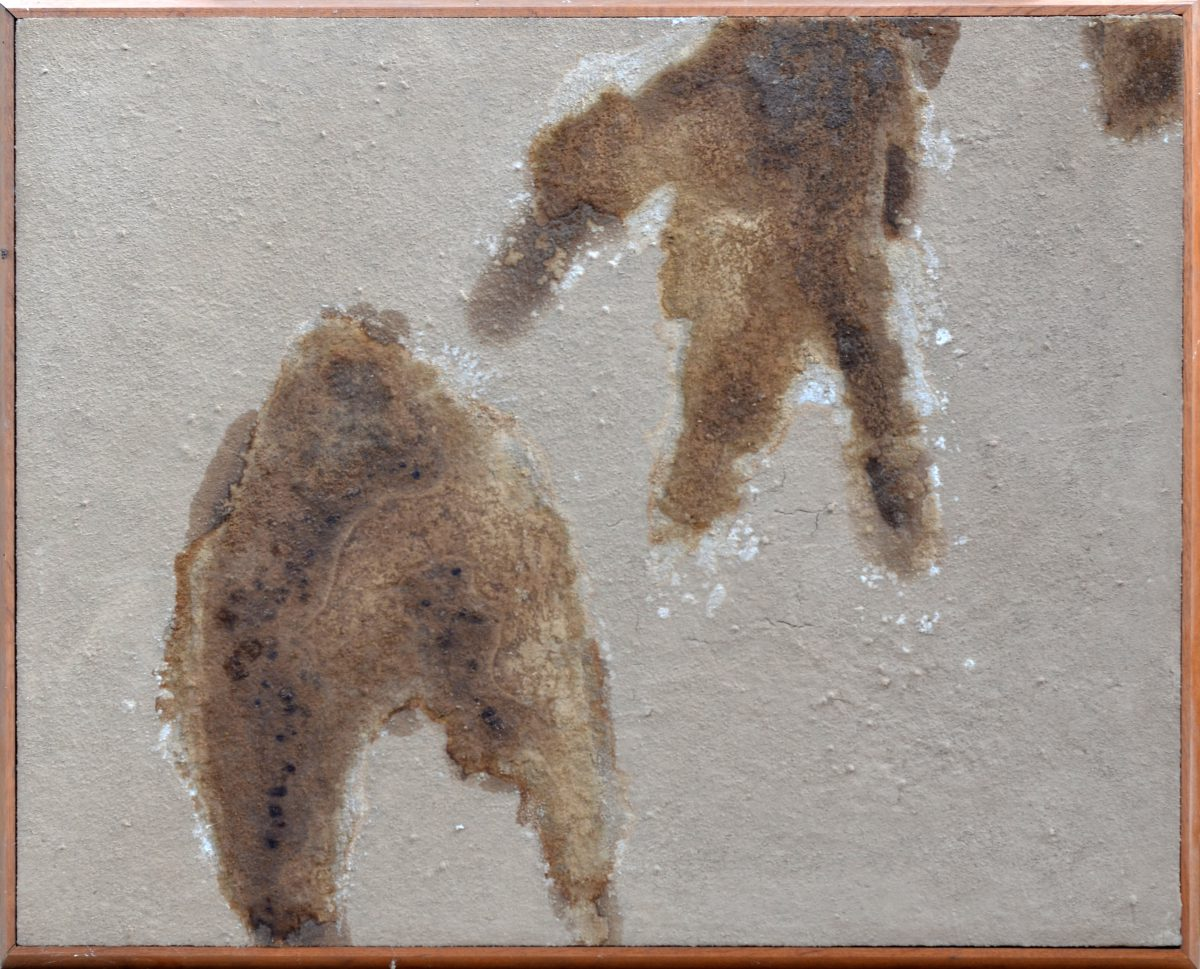 Angel Alonso - Sec, humide et gras - 81 x 100 cm