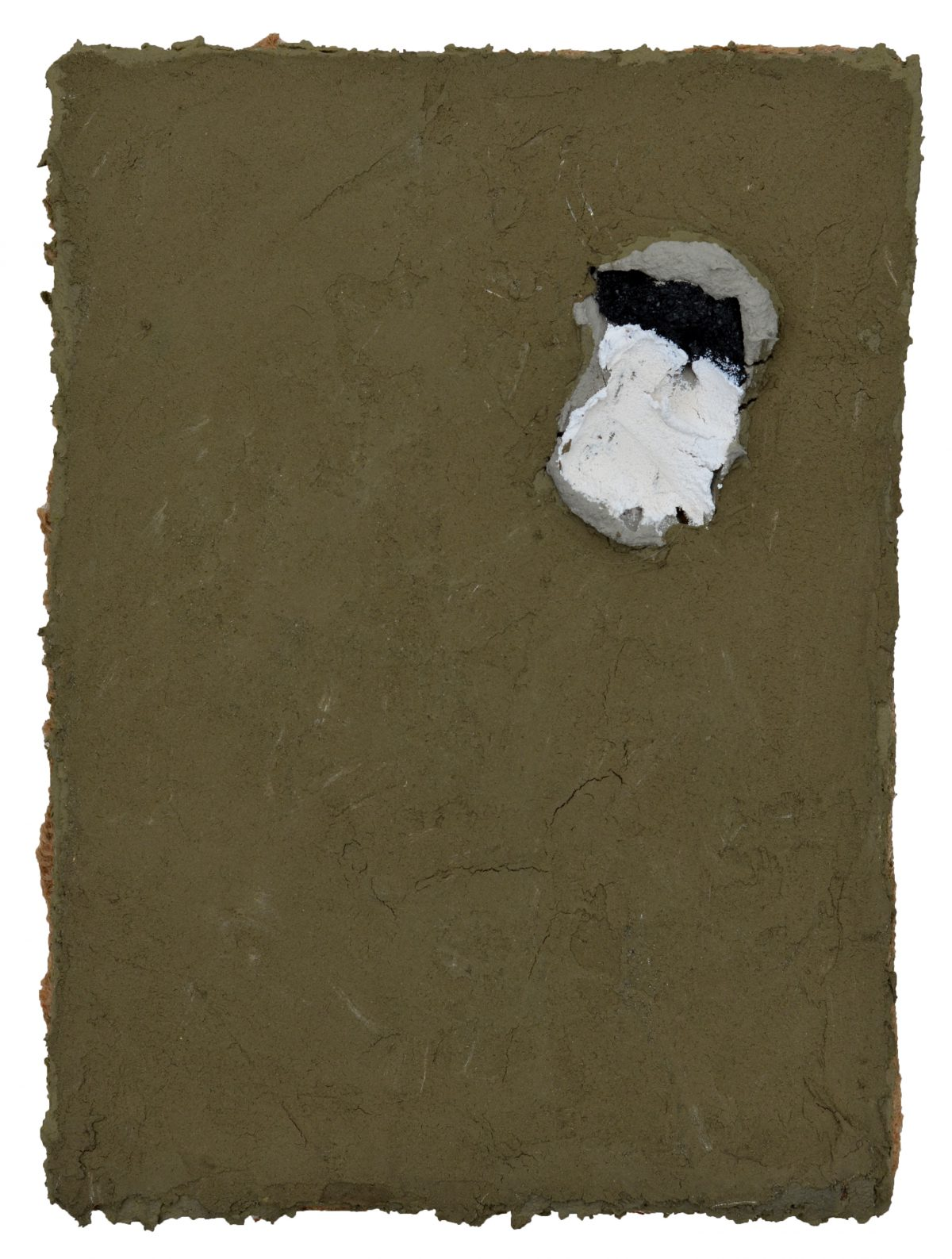 Angel Alonso - Terre d'Ombre naturelle - 22,5 x 16,5 cm - 1984