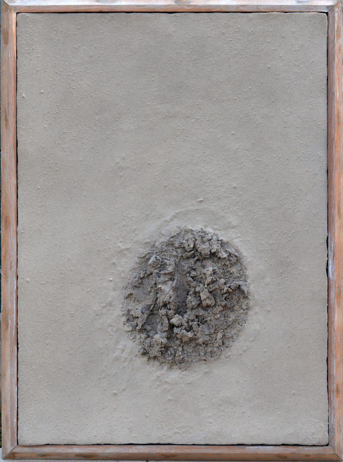 Angel Alonso - Taupinière - 77 x 56 cm - 1967