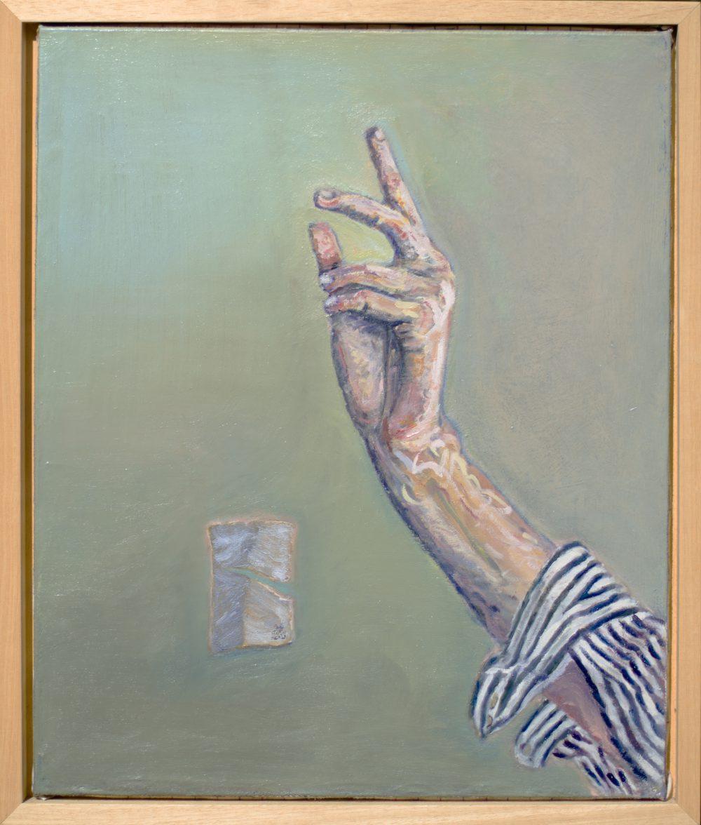 Main - Huile sur toile - 61 x 50 cm - 2016