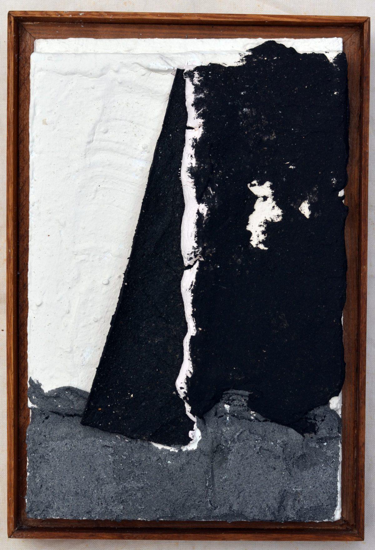 Angel Alonso - Ciel déchiré - 26 x 17 cm - circa 1980