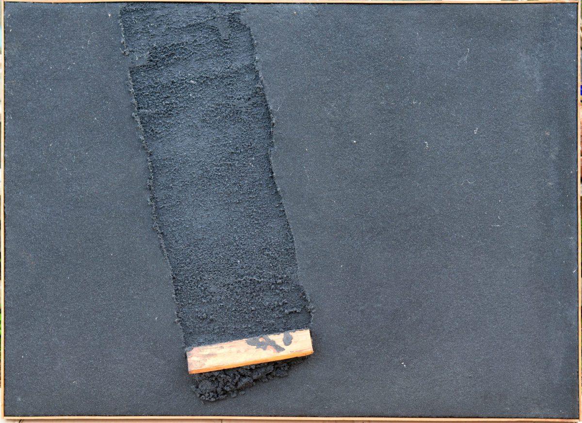 Angel Alonso - Grand Charbon - 77 x 107 cm - Dédicacé à Yves de Bayser