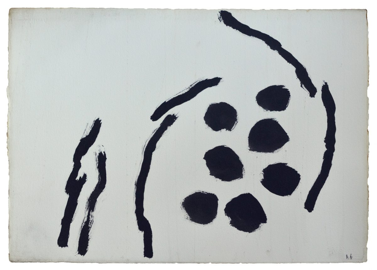 Angel Alonso - Signes - Encre de Chine - 57 x 78 - 1962