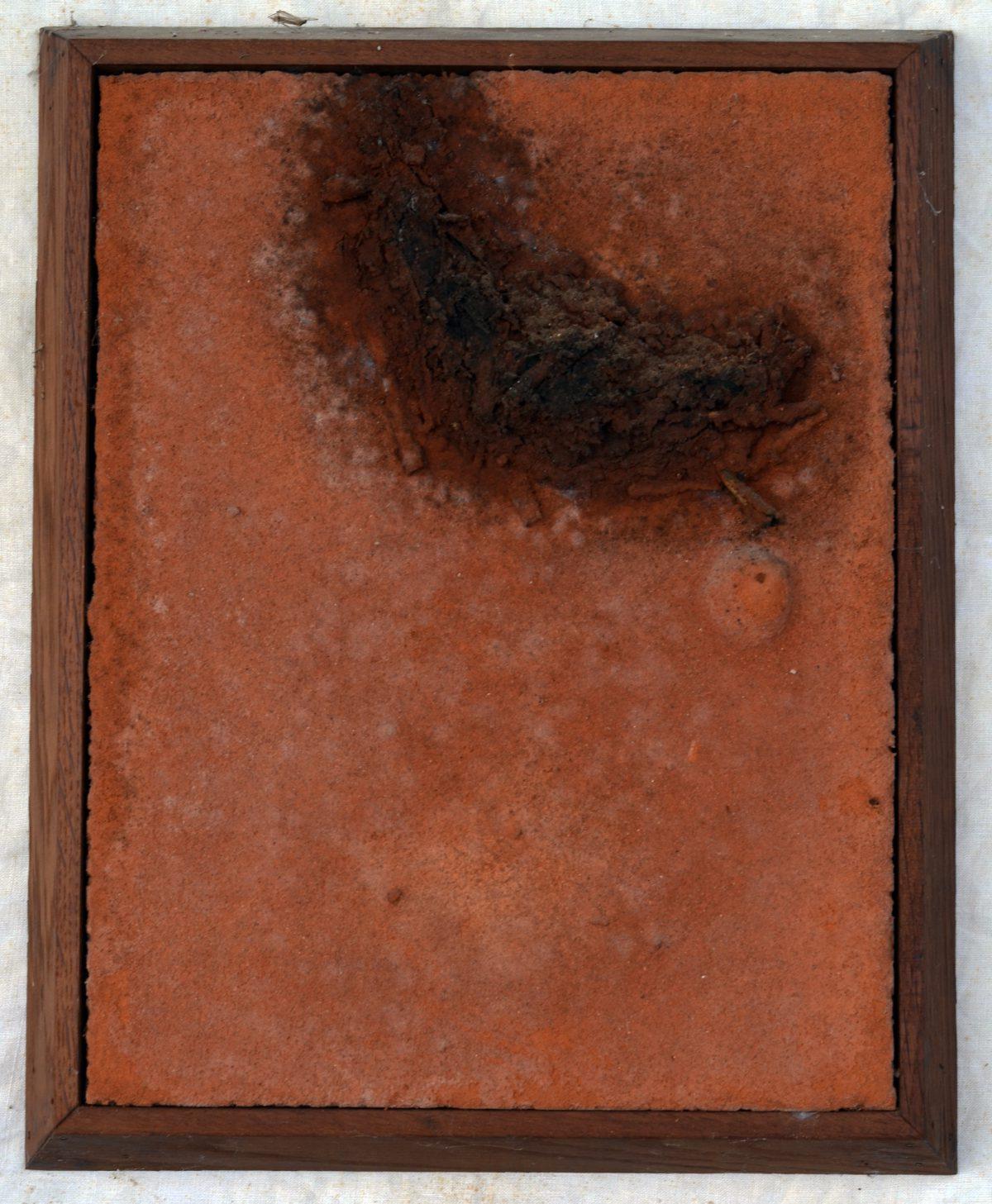 Angel Alonso - Gras enseveli - 24 x 33 cm - 1976