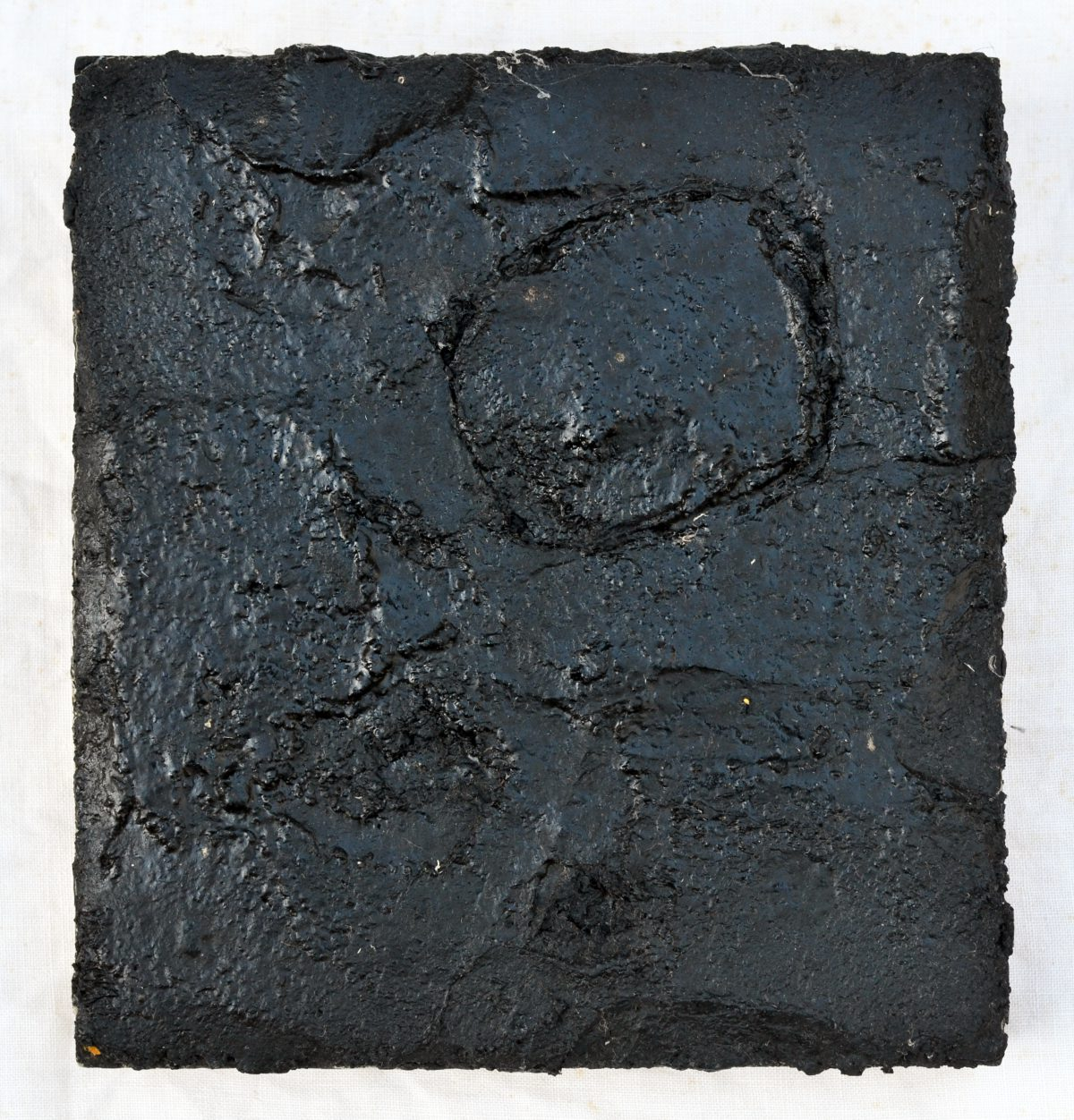 Angel Alonso - Petit Goudron - Pigments gras - 20 x 18,5 cm