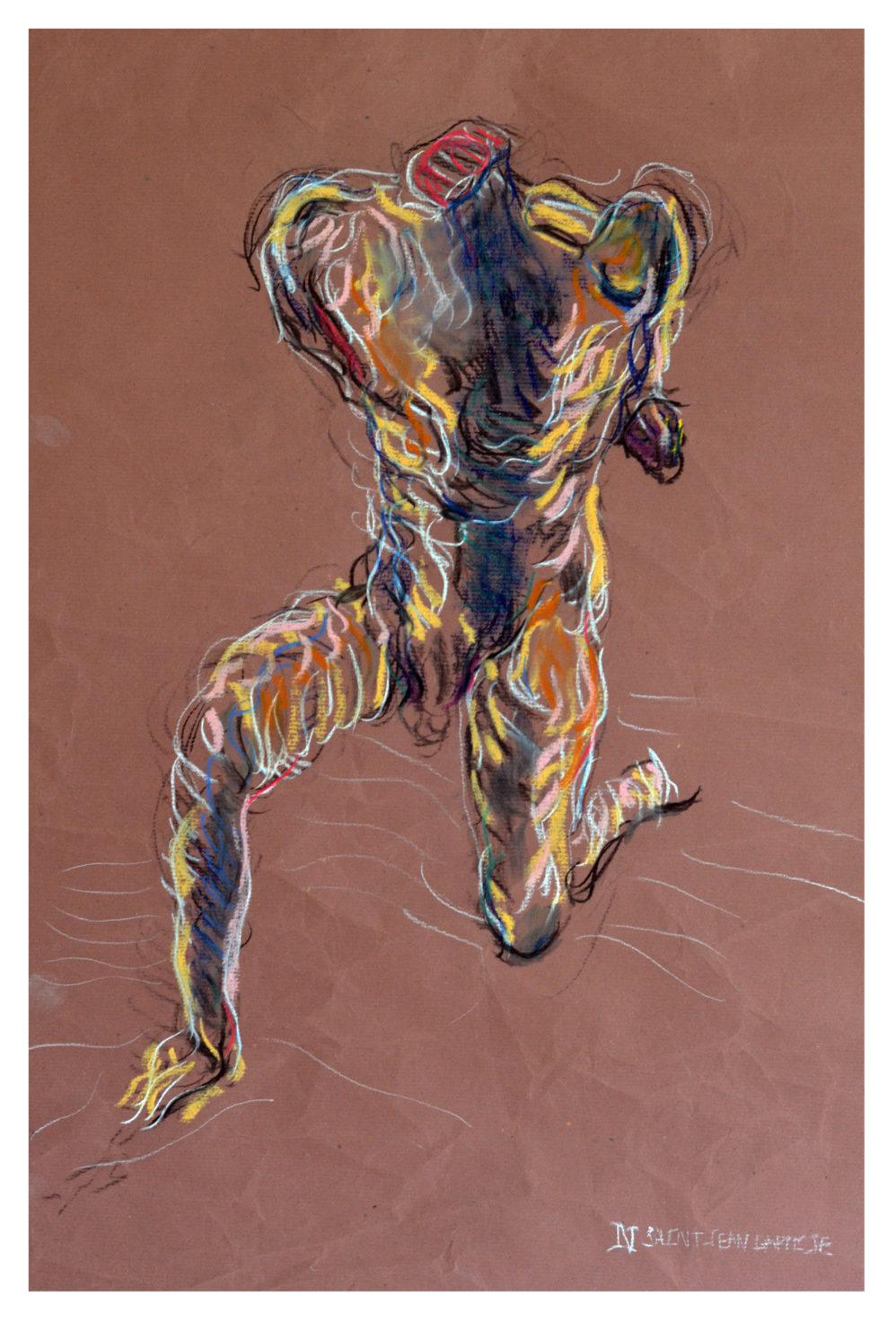 Saint-Jean Baptiste - Pastel - 75 x 50 cm - 2017