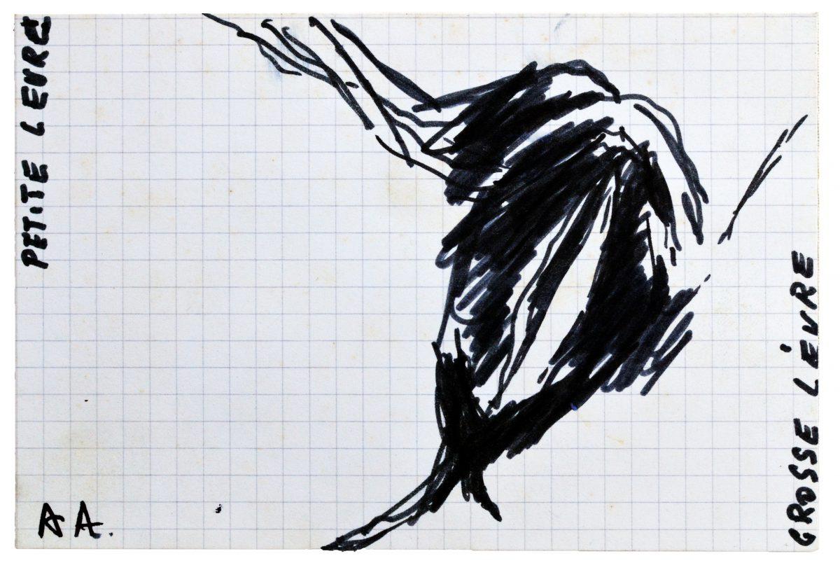 Angel Alonso - Petite lèvre, grande lèvre - 1983