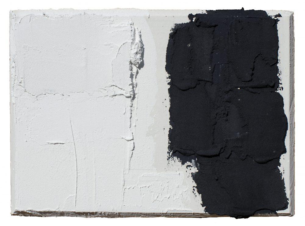 Composition - Pigment sur Panneau