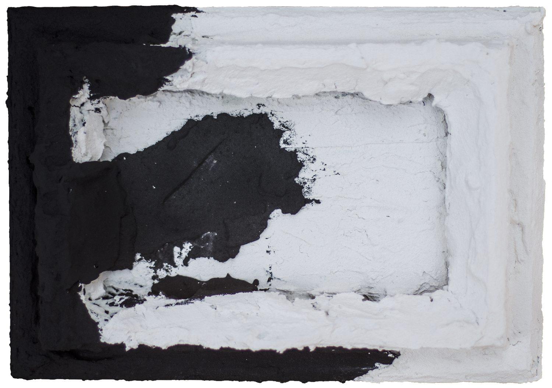 Désastre I - Pigments sur panneau