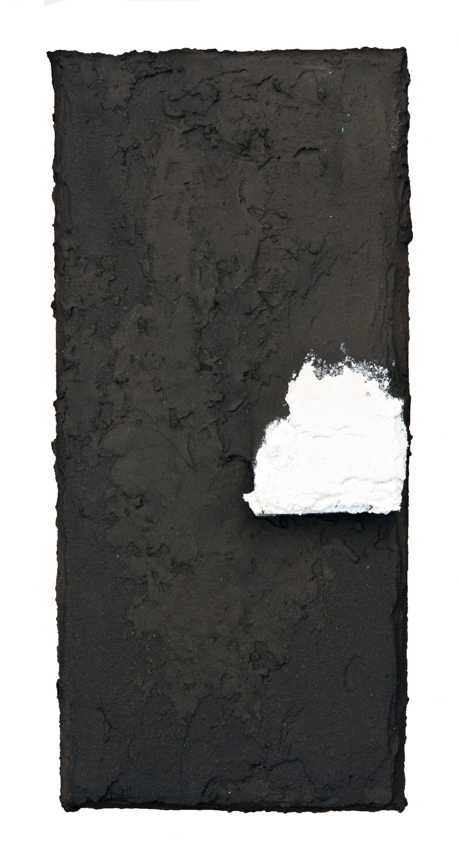 Angel Alonso - Témoin blanc - 32 x 15 cm - 1980