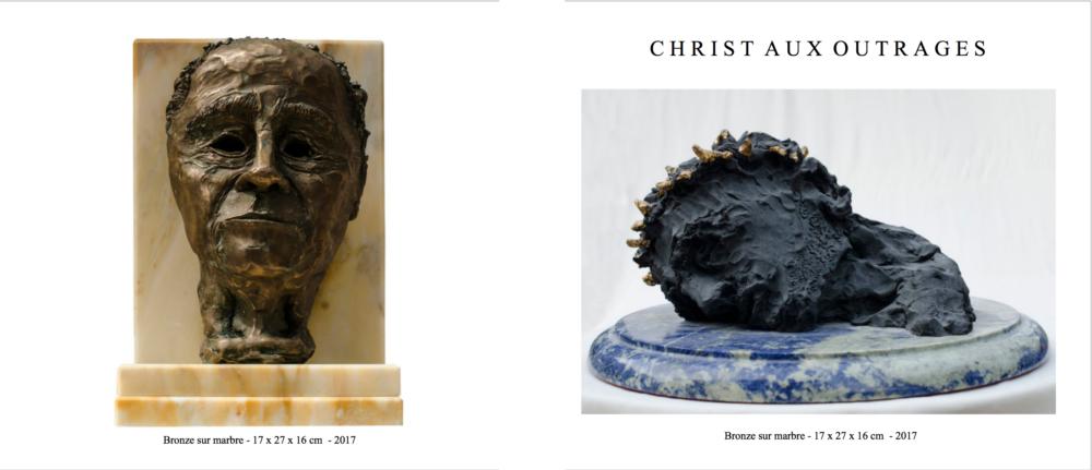 Portrait de JPM et Christ aux Outrages - Liber Veritatis - Paul-Clément Neumann