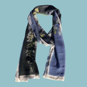Foulard Numéro 1 - Soie Naturelle - 35 cm x 190 cm