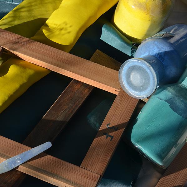 Les outils du peintre